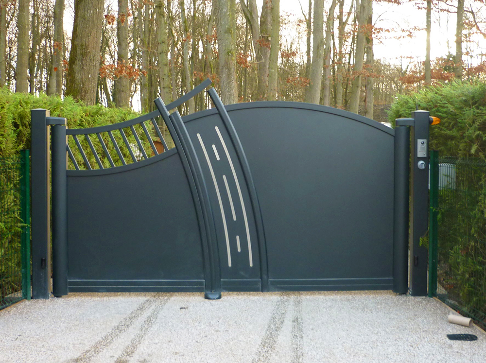 conception et installation de portail et cl ture en savoie. Black Bedroom Furniture Sets. Home Design Ideas